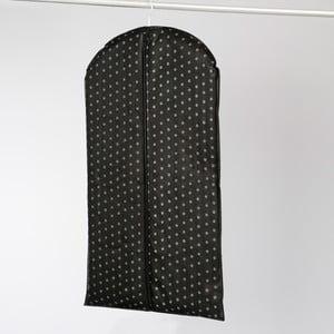 Černý závěsný obal na šaty Compactor Garment, délka100cm