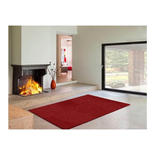 Červený koberec Universal Veluro Rojo, 57x110cm