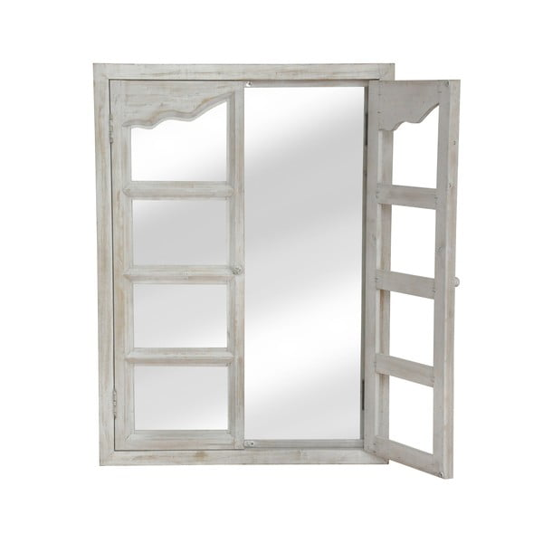 Zrcadlo White Window, 86x68 cm
