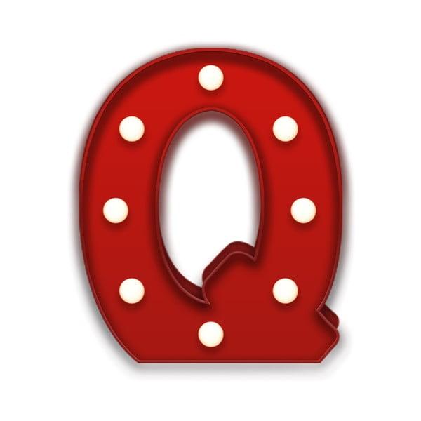 Dekorativní světlo Carnival Q, červené