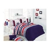 Lenjerie de pat cu cearșaf Beverly Hills Polo Club Bowie, 160 x 220 cm