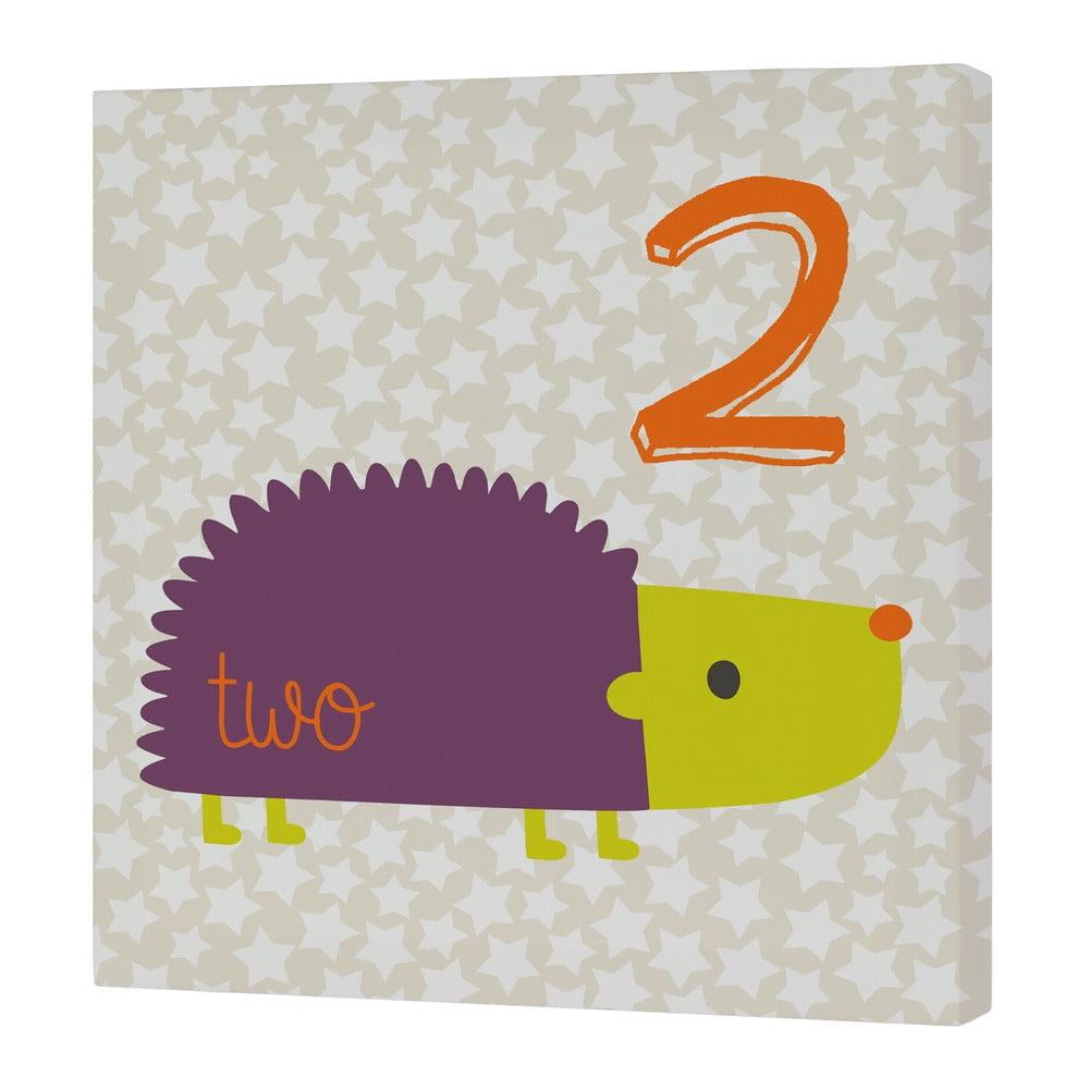 Nástěnný obrázek Baleno Forest Friends Hedgehog, 29,7 x 42 cm