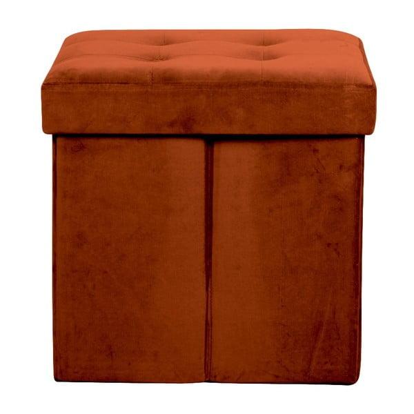 Skládací oranžová taburetka Opjet Paris Amelie Orange