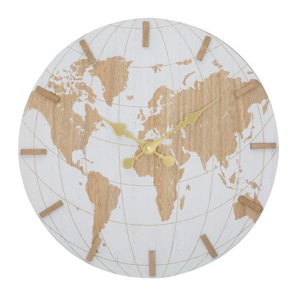 Ceas de perete Mauro Ferretti White World, ⌀ 39 cm