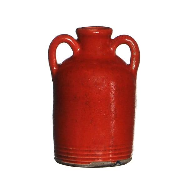 Keramická váza Sil Red, 14x7.5 cm