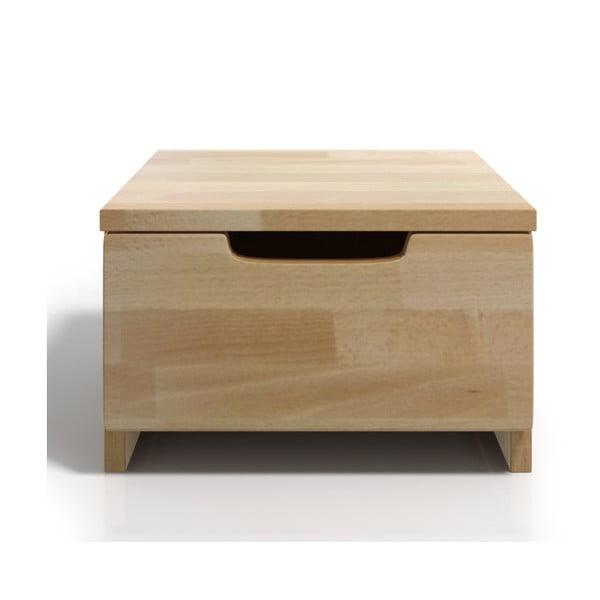 Noční stolek z bukového dřeva se zásuvkou SKANDICA Spectrum