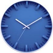 Hodiny Blue Minimalistic, 30 cm