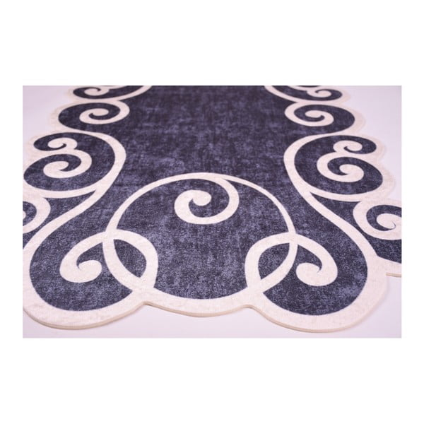 Odolný koberec Vitaus Gunna Siyah, 60 x 100 cm
