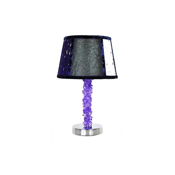 Stolní lampa Crystal Dark Violet