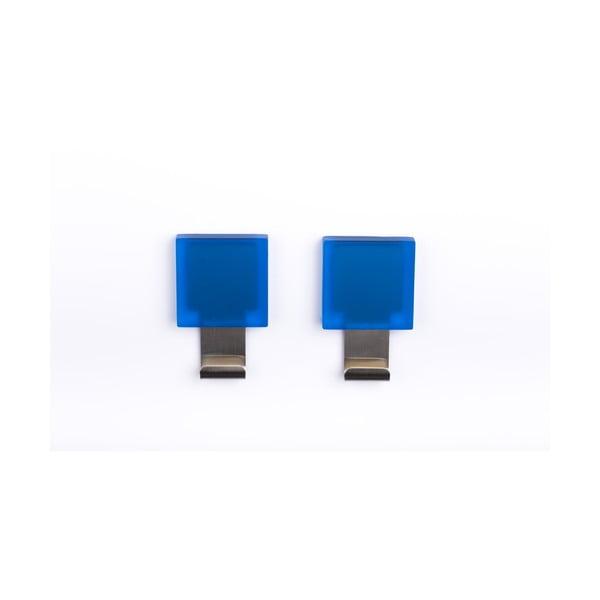 Sada 2 samodržících háčků Morbini Blue