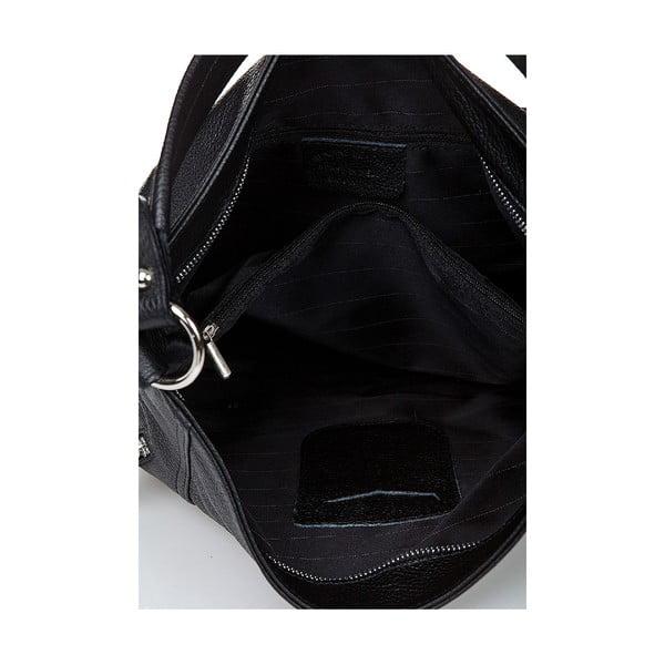Kožená kabelka Giorgio Costa 15026 Black