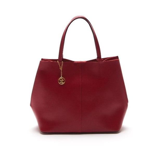 Kožená kabelka Sofia Cardoni 389 Rosso