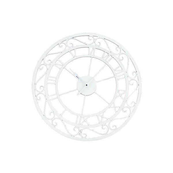 Nástěné hodiny Metall White, 55 cm
