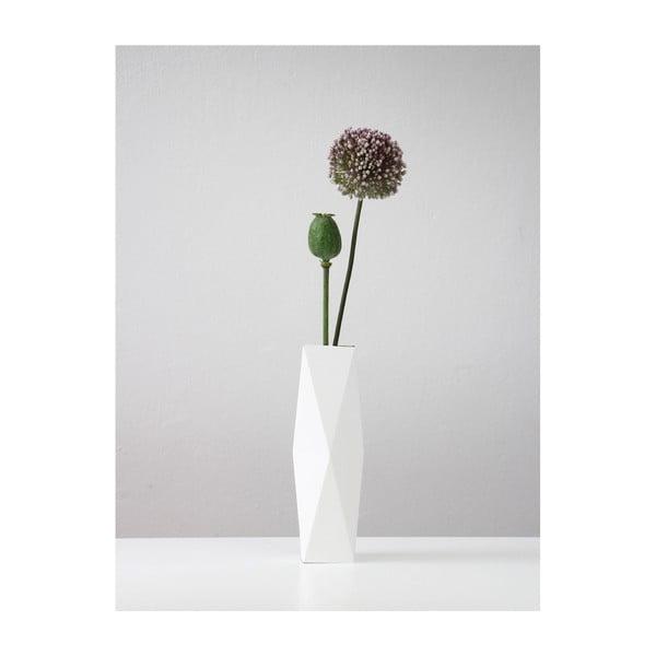 Skládací origami váza SNUG.White