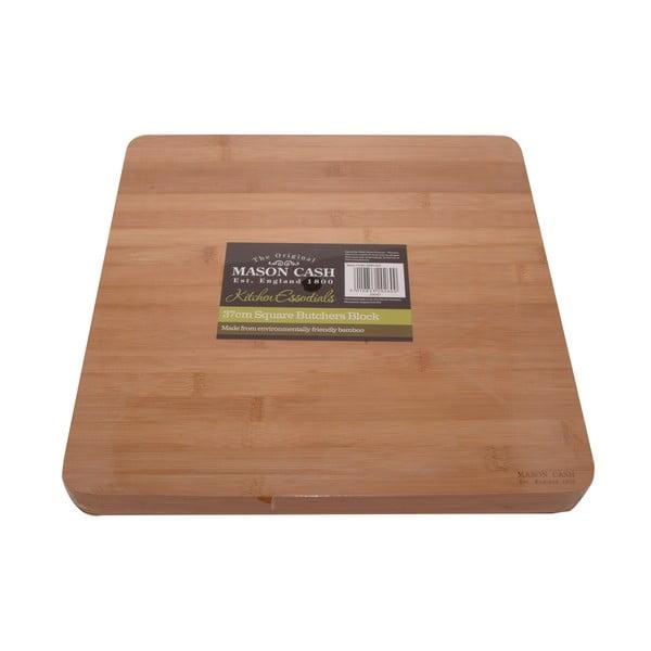 Bambusové krájecí prkénko Mason Cash Essentials, 37x37 cm