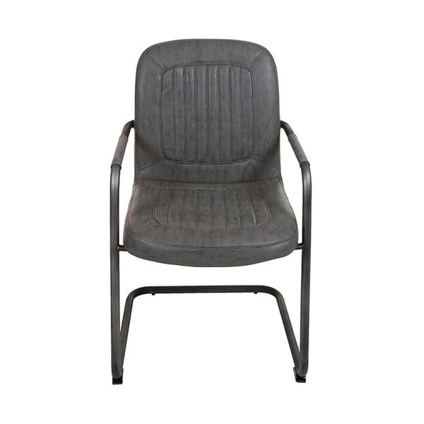 Šedá židle Santiago Pons Loft