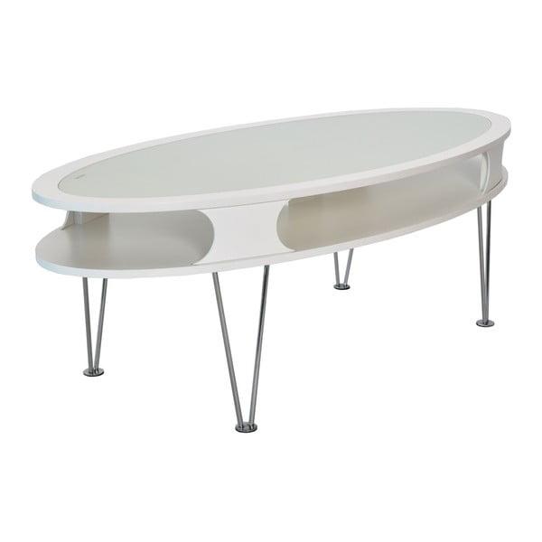 Uppsala fehér ovális kisasztal - RGE