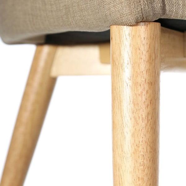 Židle Retro Up, krémová