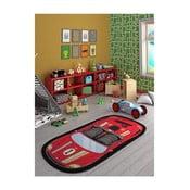 Covor pentru camera copilului Speed Racer Red, 100 x 200 cm