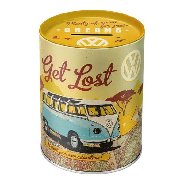 Sada retro teploměr a pokladnička Get Lost