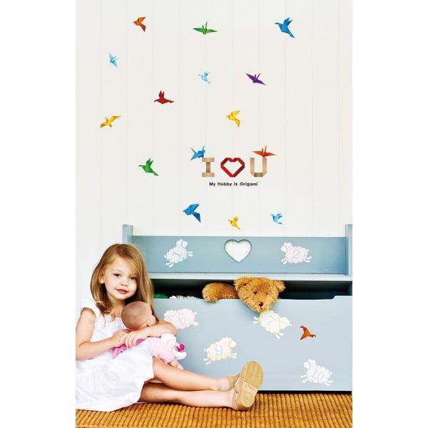 Samolepka Fanastick Paper Birds