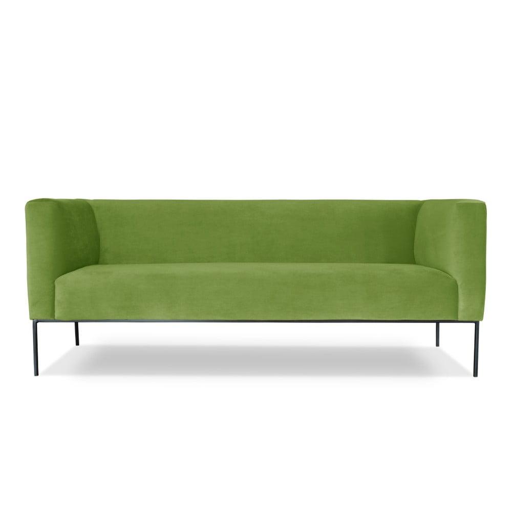 Zelená trojmístná pohovka Windsor & Co. Sofas Neptune