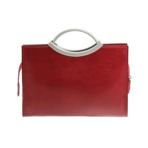 Červená kabelka z pravé kůže GIANRO' Screwer