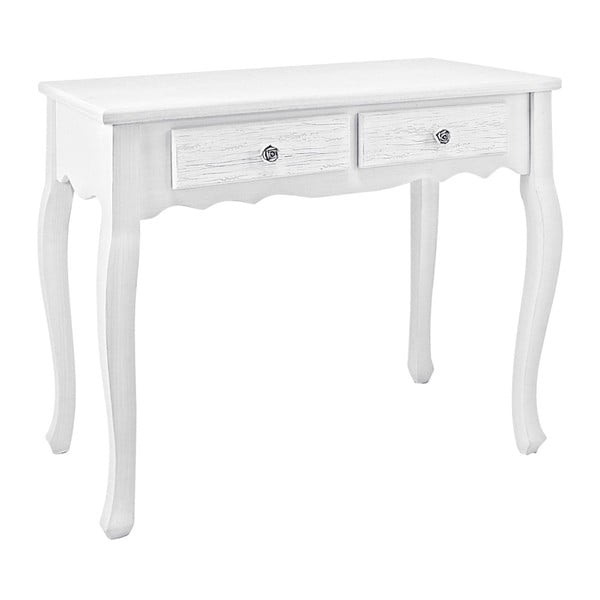 Konzolový stolek Bizzotto Blanc, šířka 80 cm