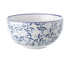 Modro-bílá miska Unimasa Meadow, 450 ml