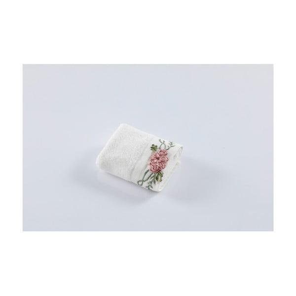 Bílý ručník z bavlny Bella Maison Rosie, 30 x 50 cm