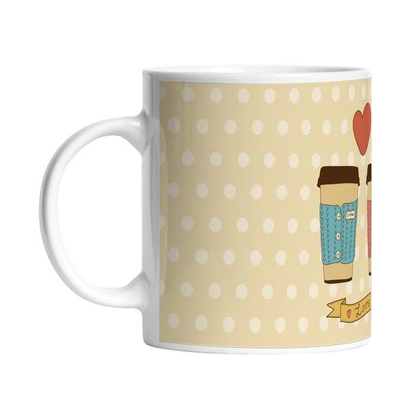 Keramický hrnek Cup of Love, 330 ml
