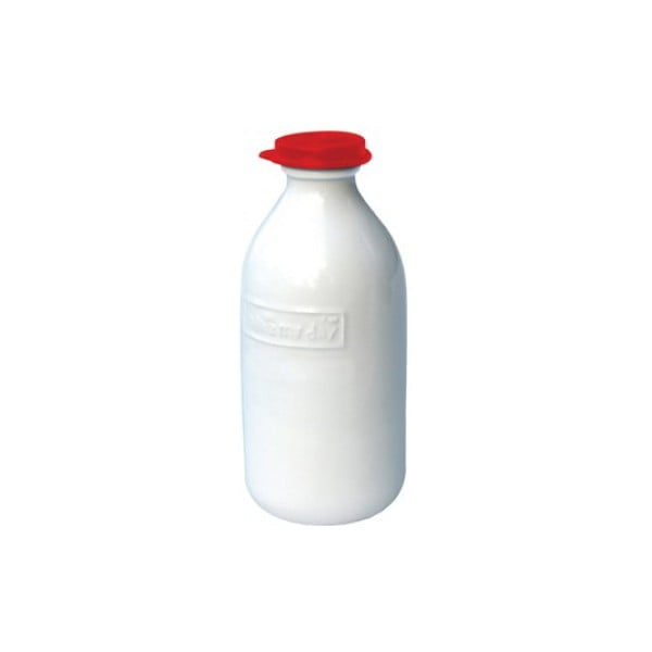 Lahev na mléko Retro Red