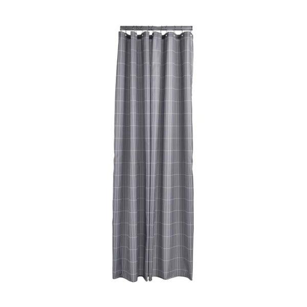 Tiles szürke zuhanyfüggöny, 180x200 cm - Zone