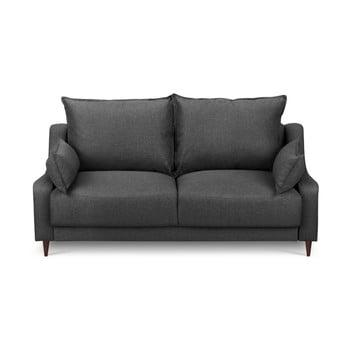 Canapea cu 2 locuri Mazzini Sofas Ancolie, gri închis de la Mazzini Sofas