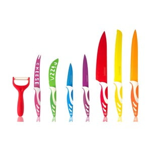 Sada 7 nožů a škrabky Royalty Line
