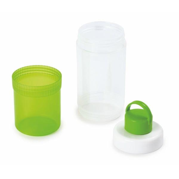 Set zelené lahve a kelímku Snips Eat & Drink, 0,4 l