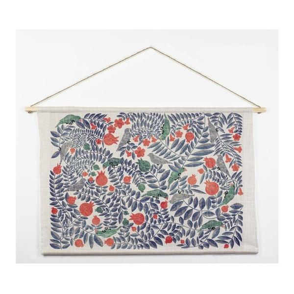 Bavlnená tapiséria Surdic Flowers, 60×90 cm