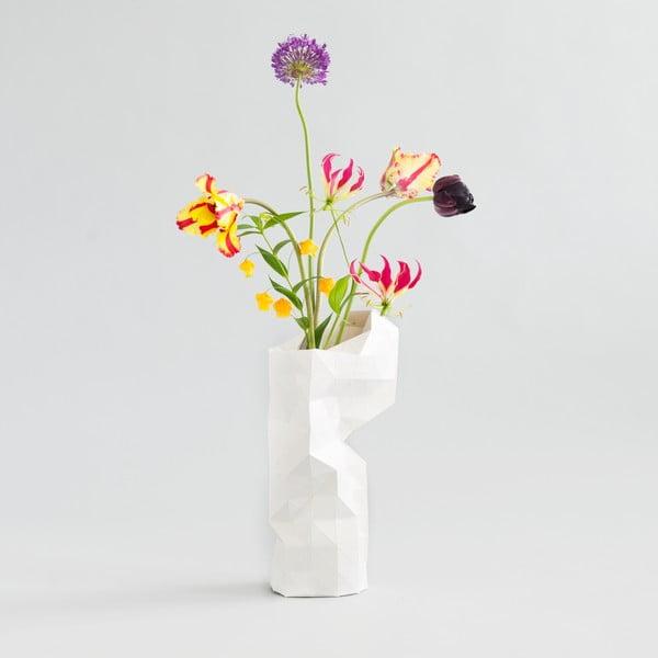 Papírová váza White