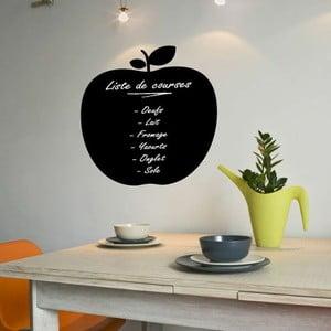 Autocolant tip tablă cu cretă lichidă Ambiance Apple Blackboard