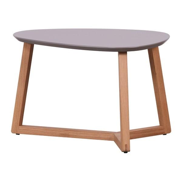 Konferenční stolek se šedou deskou Artemob Marina, 40 x 60 cm