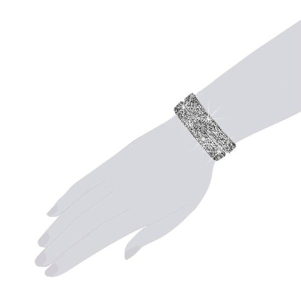 Náramek Silver Shine, 42 cm