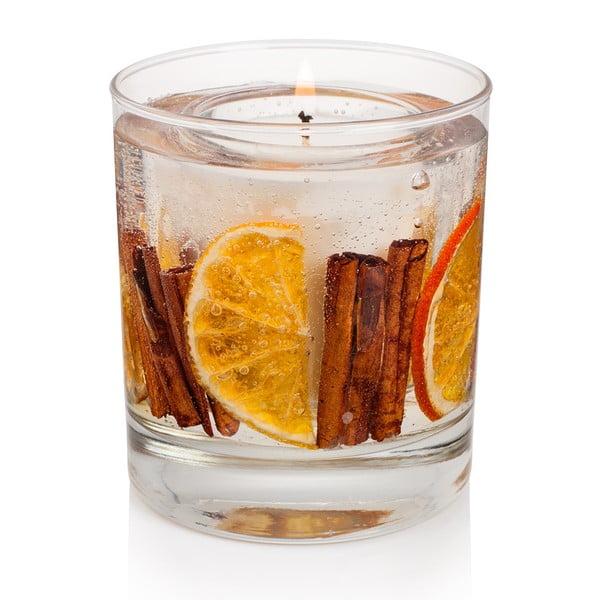 Svíčka Botanical 15 hodin hoření, skořice a pomeranč