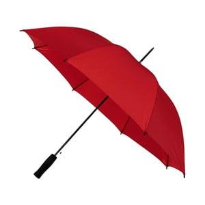Červený větruodolný deštník Ambiance, ⌀102cm