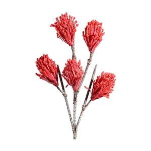 Umělá květina s červenými květy Ixia Gugu, výška104cm
