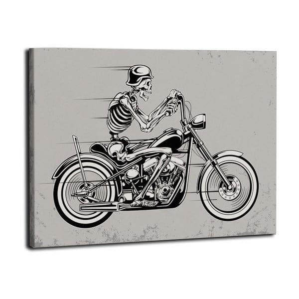 Obraz Kostra jede, 50x70 cm