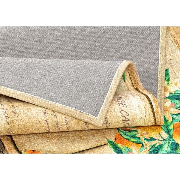 Vysoce odolný kuchyňský koberec Webtappeti Bon Appetit,60x115cm