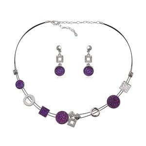 Set náhrdelníku a náušnic s krystaly Swarovski Elements Crystals Séraphin