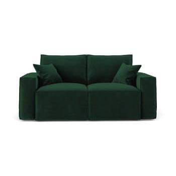 Canapea cu 2 locuri Cosmopolitan Design Florida, verde închis