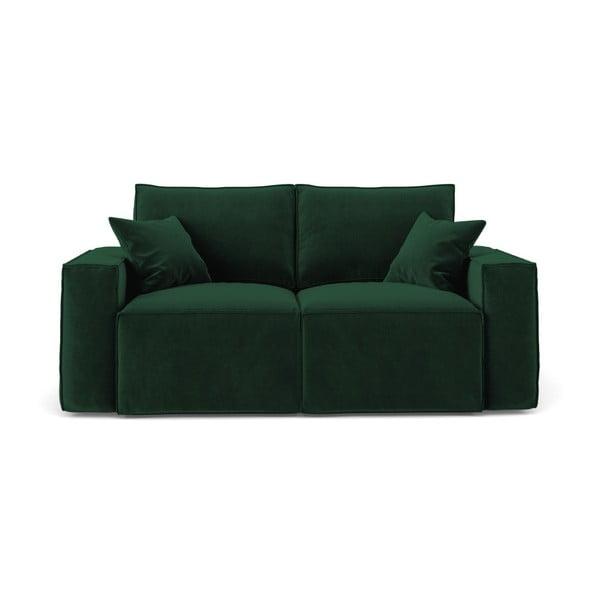 Zelená dvoumístná pohovka Cosmopolitan Design Florida