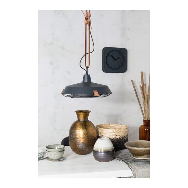Šedé stropní svítidlo Zuiver Dek, Ø40cm